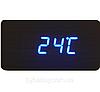 Часы с синим индикатором от батареек, фото 5