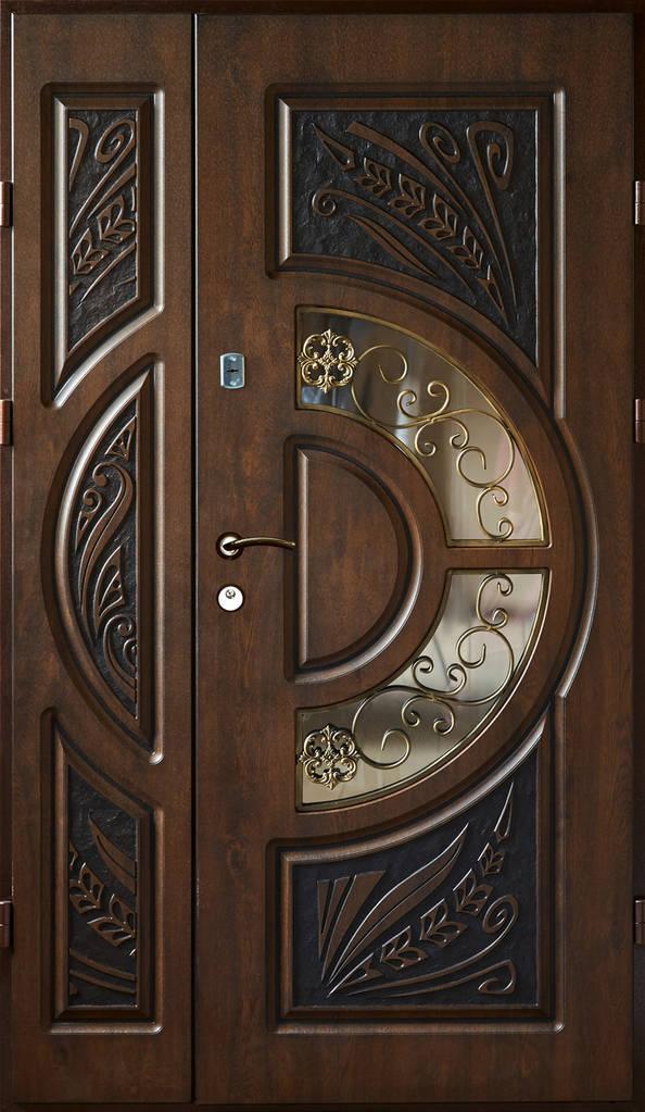 Двері вхідні, з мдф накладками. VIP ПЛЮС МДФ-16мм vinorit (зовнішні) 960мм