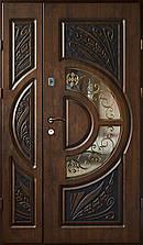 Двері вхідні, з мдф накладками. VIP ПЛЮС МДФ-16мм vinorit (зовнішні)