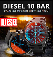 Стильные мужские наручные часы DIESEL 10 BAR