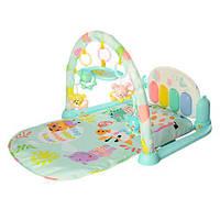 Развивающий коврик-пианино для малышей (ГОЛУБОЙ) арт. 681-682