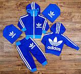 Детский спортивный костюм Адидас,качество шикарное!4 цвета, фото 3