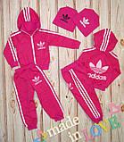 Детский спортивный костюм Адидас,качество шикарное!4 цвета, фото 4