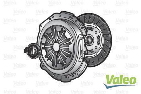 Комплект сцепления VALEO 826326 Volkswagen, Audi, Seat, Skoda, фото 2