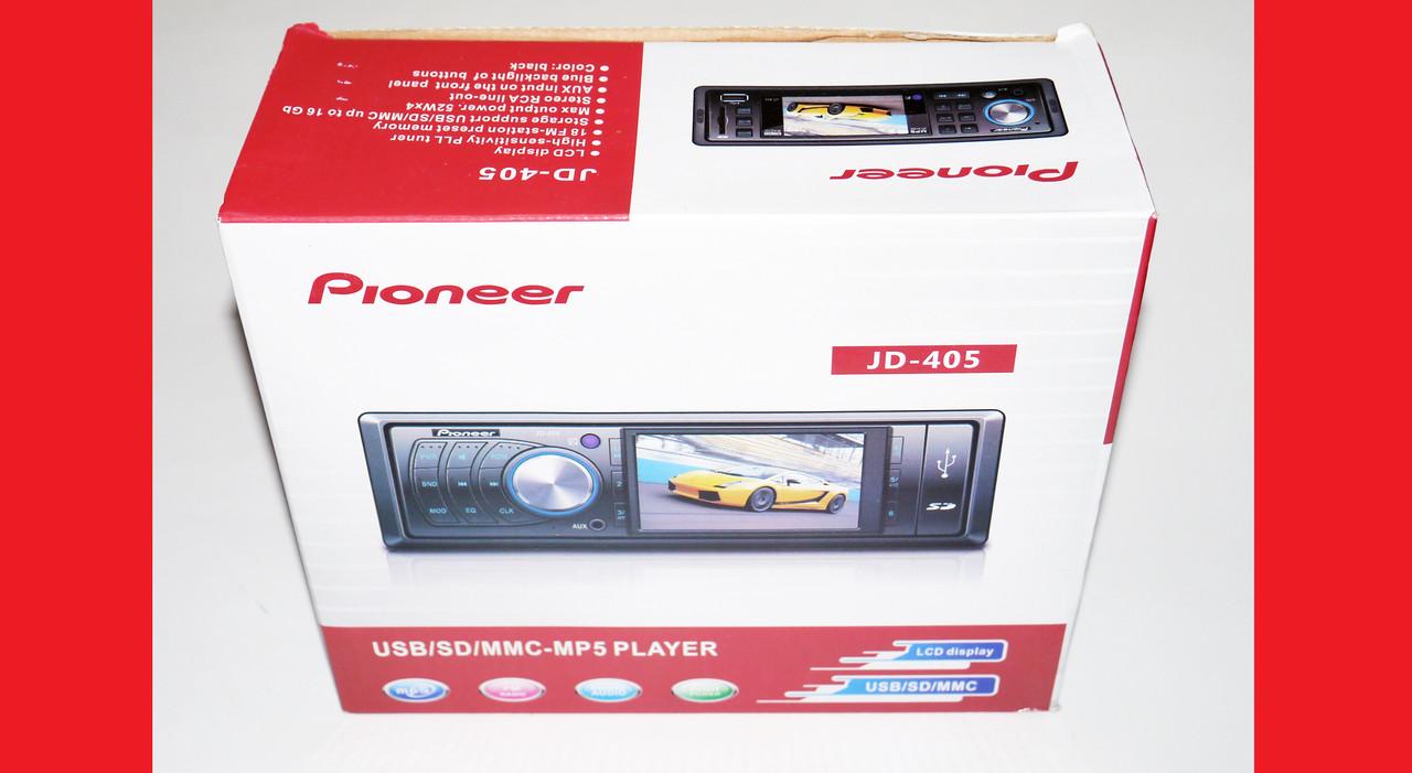 "Автомагнитола Pioneer JD405 3""Video экран+USB+SD"