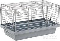 """Клетка  50*27*30 см """"Кролик"""" 50 хром для кролика, морской свинки, ёжика, грызуна"""