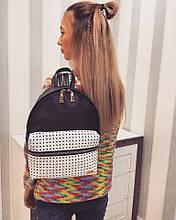 Женский модный рюкзак с эко-кожей
