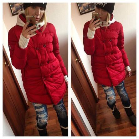 """Женская куртка """"Пингвин"""" на синтепоне , фото 2"""