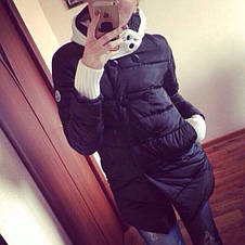 """Женская куртка """"Пингвин"""" на синтепоне , фото 3"""