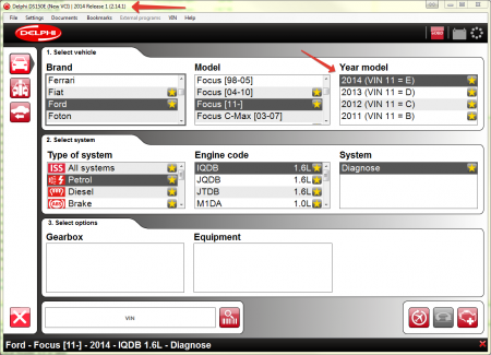 Delphi 2014.1, 2014.R1 (Autocom 2014.1)
