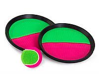 Игра Тарелка липучка и теннисный мяч, MB-140, 008397