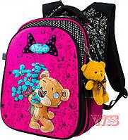 Рюкзак для девочек с брелком 8002