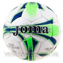 Мяч футбольный DXN White JM-4, зеленый
