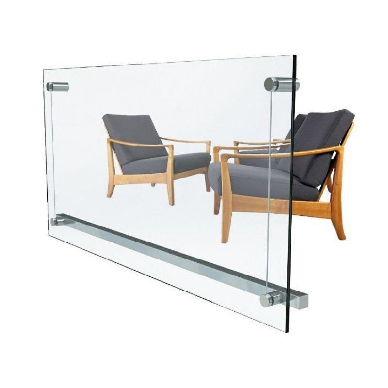 Стеклянный настенный обогреватель Ensa P750G-VISIO (750Вт 14м2)