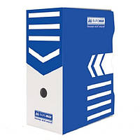 Архивный бокс для документов Buromax 150 мм синий (BM.3262-02)