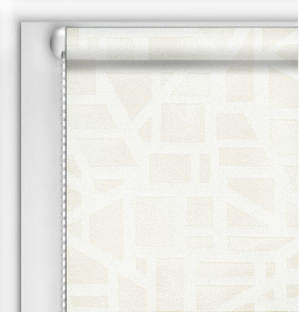 Рулонные шторы DIY Призма белый