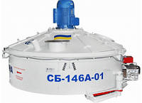 Бетоносмеситель роторный СБ-146А.Бетономешалка