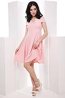 Нежное женское платье со спущенными плечами и пышной юбкой 7046, фото 1