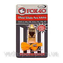 Свисток на шею Fox 40  пластмасса FW0141