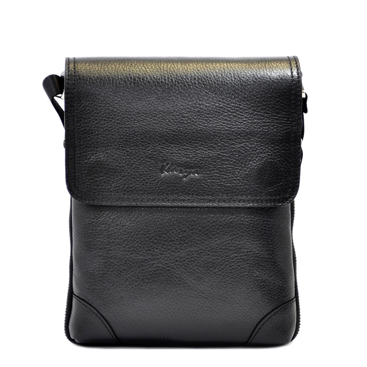 Чоловіча сумка Karya з натуральної шкіри
