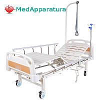 Кровать электрическая (2 функции) с полкой и накроватным столиком DB-7 MM-77Н