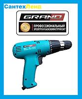 Шуруповерт сетевой GRAND ДЭ-800