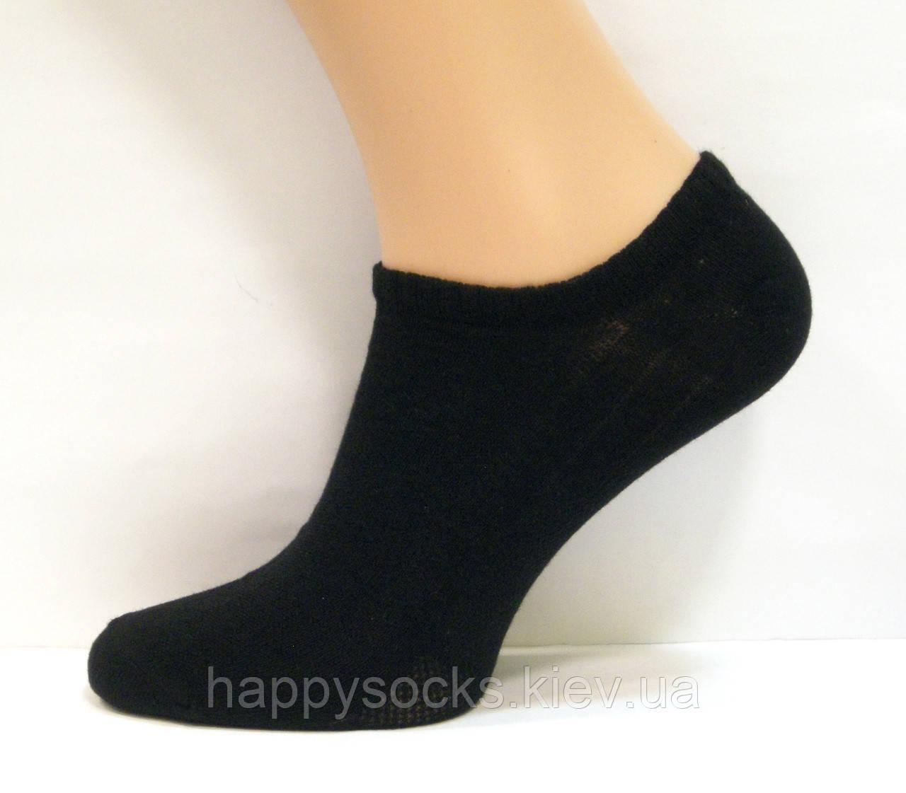 Носки в сеточку мужские черного цвета