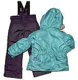 Зимний костюм для девочки PELUCHE F17 M 52 EF New Reef / Grape. Размеры 96 - 128., фото 2