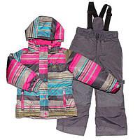 Зимний костюм для девочки PELUCHE F17 M 72 EF Amethyste / Smokey Grey. Размеры 104 - 128., фото 1