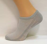 Носки в сеточку для мужчин низкие серого цвета, фото 1