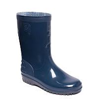 Резиновые сапоги женские короткие синие OLDCOM Олдком