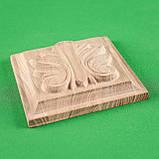 Мебельная накладка Розетка. Код Р36, фото 2