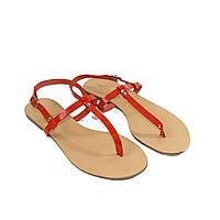 Коралловые босоножки 41 размер Woman's heel из натуральной кожи итальянские на низком ходу