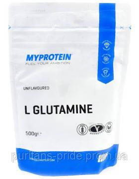 Глютамин Myprotein L-Glutamine 500g, фото 2