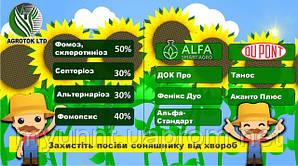 Фунгіцидний захист соняшнку