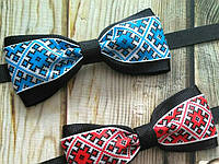 Бабочка галстук для джентльменов в украинском стиле, фото 1