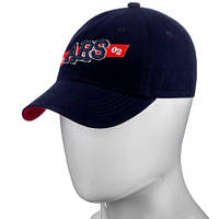 Бейсболка мужская кепка катоновая низкая посадка 54 по 58 размер бейсболки мужские кепки, фото 1