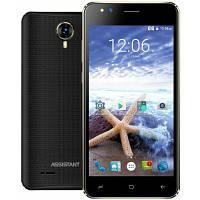 "Смартфон Assistant AS 5421 Surf 1/8Gb Black, 5/2Мп, 5"" IPS, 1700mAh, 2sim, 4 ядра, 3G, SC7731, 12 мес., фото 1"