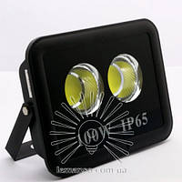 Прожектор LED 100w 6500K 2LED IP65 9000LM LEMANSO чёрный/ LMP14-100