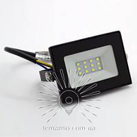 Прожектор LED 10w 6500K IP65 800LM LEMANSO чёрный/ LMP9-12