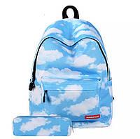 Рюкзак школьный Космос Новинка Galaxy New с пеналом, фото 1