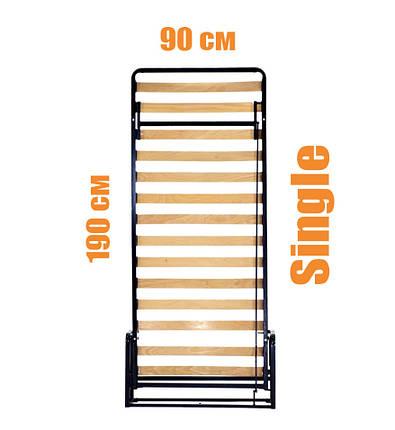 Вертикальная откидная кровать LWB Single, фото 2