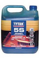Биозащита строительной древесины Tytan 5S концентрат 1:9 зеленый, 5 л
