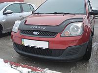Дефлектор капота (мухобойка) Ford Fiesta VI (Форд фиеста 6 2002-2008)