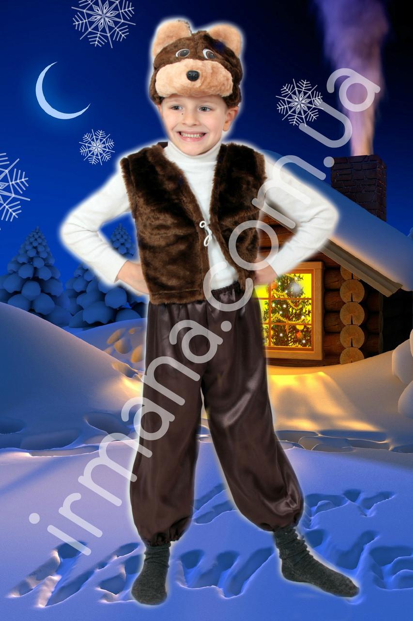 Новогодний костюм для мальчика Бурый Мишка, Медведь, цена ... - photo#41