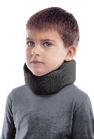 Бандаж для шеи шейных позвонков ( воротник шанца ) , тип 710 черный детский