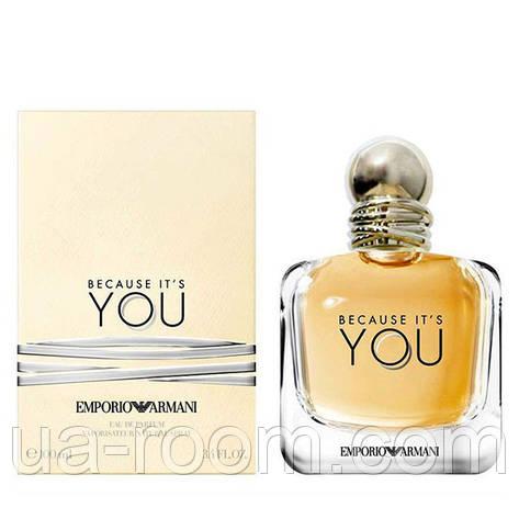 Giorgio Armani Emporio Armani Because It's You, женская парфюмировання вода 100 мл., фото 2