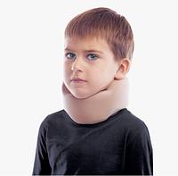 Бандаж для шеи шейных позвонков ( воротник шанца ) , тип 710 бежевый детский