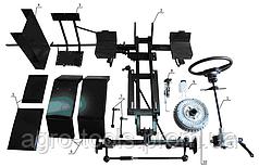 Комплект для переоборудования мотоблока в мототрактор №2 (гидравлическая тормозная система) (КТ4)