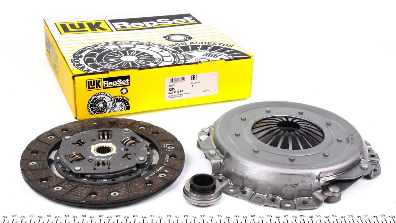Комплект сцепления LUK/INA 623 3043 00 Peugeot /Citroen/Fiat/Suzuki, фото 2